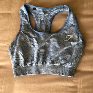 Gymshark Intimates & Sleepwear - GYMSHARK SEAMLESS SPORTS BRA BLUE